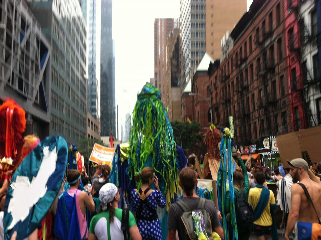 Marching in Midtown