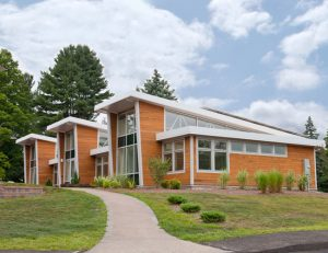 At the Watkinson School, a pre-engineered building blends environmental science with ethics.
