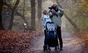 People who become parents, for instance, actually seem to start taking climate change a little less seriously, according to Marshall's evidence. Photograph: i love images/Alamy