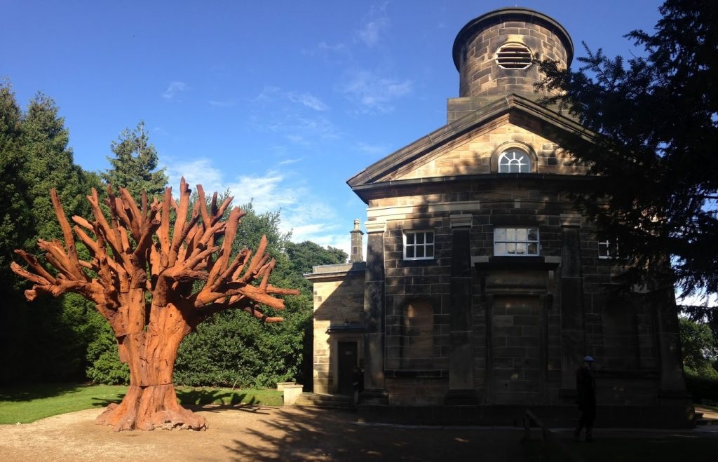 Ai Weiwei, Iron Tree, 2013 Yorkshire Sculpture Park