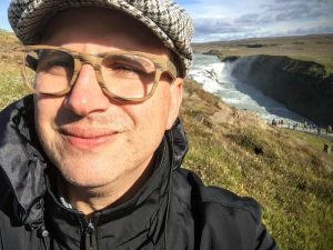 Climate Stew host Peterson Toscano on a recent trip to Iceland