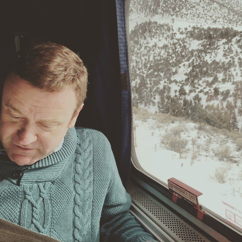 Glen Retief on a recent cross-country Amtrak train trip