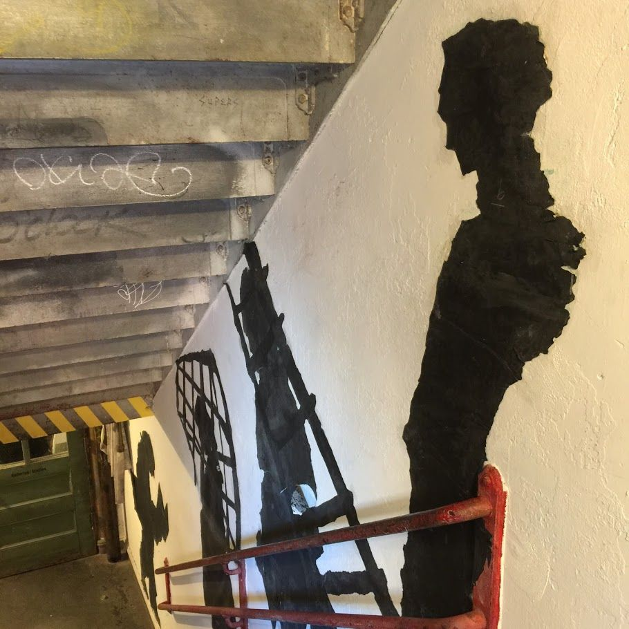 Stairwell, MOMA PS1 (credit P. Toscano)